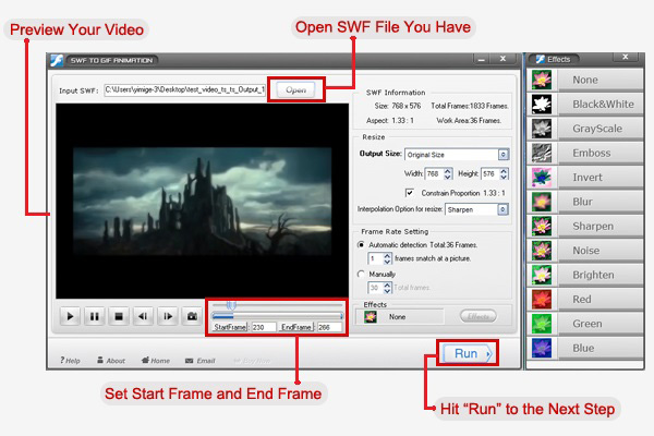 How to Convert SWF to PNG and Preserve High Quality